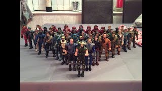 (2017) Our 'The Corps!' Action Figure Collection (Recent 'Lanard')