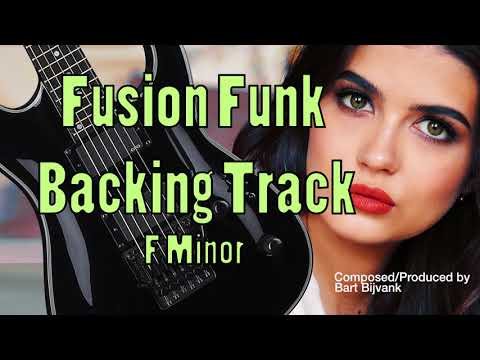 Fusion Funk Backing Track F Minor Cool Breeze