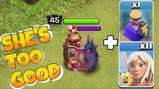 "ONE SUPER OVER POWERED JUICED PEKKA!!! ""Clash Of Clans"" GET AT ME BRO!"