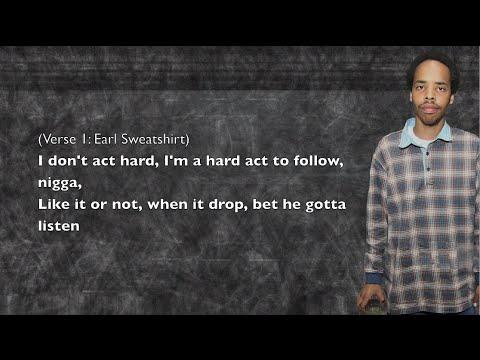 Earl Sweatshirt - Grief - Lyrics