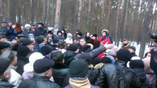 Жмеринский лес встреча громады и власти