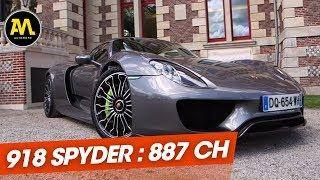 Quand On A Découvert La Porsche 918 Spyder (2015)
