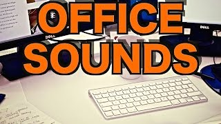 12 Hours of Ambient Office Sounds |  Relaxing Background Noise and Office Ambience