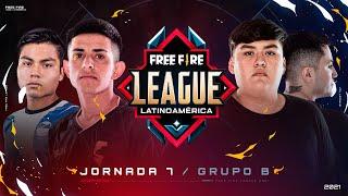 ¡Jornada 7 de la Free Fire League 2021! 🔥 | Grupo B - Apertura