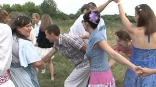 Свадебный обряд в народном стиле в с. Красное Прохоровского района