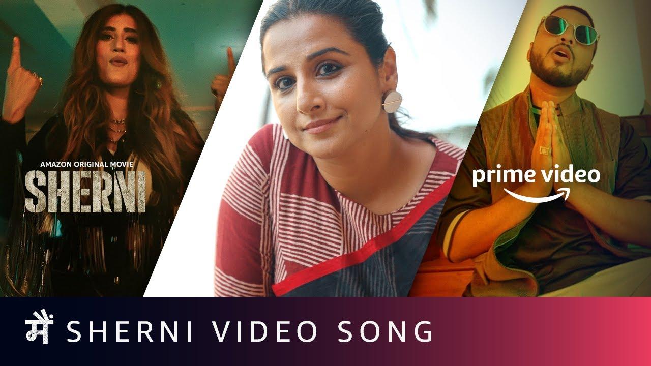Main Sherni Video Song | AKASA, @Raftaar, Vidya Balan | Amazon Original Movie | June 18