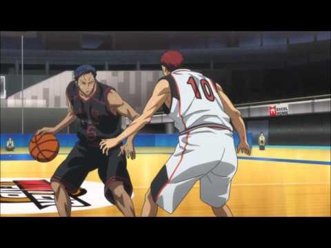 Kuroko no Basket 43 Aomine vs Kagami (episode 18 season 2) THE ZONE