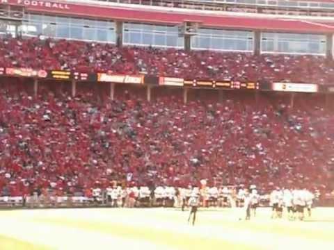 """Nebraska """"Wave"""" vs Idaho St. 2012"""