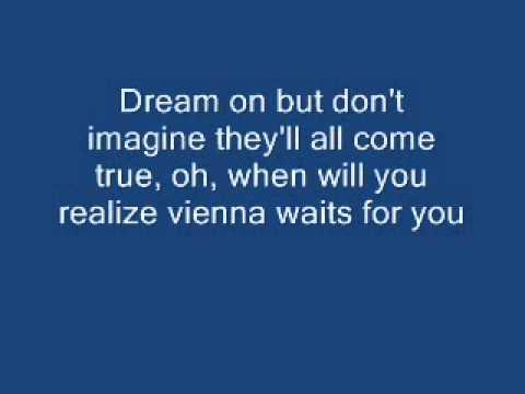 Vienna karaoke. Version of Ariana Grande
