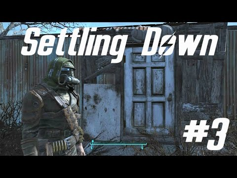 Let's Play Fallout 4 #3 | Settling Sanctuary
