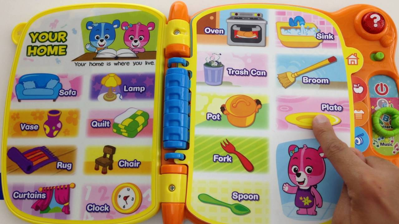 Learn Abc Words And Letters Vtech Touch And Teach Word Book Youtube