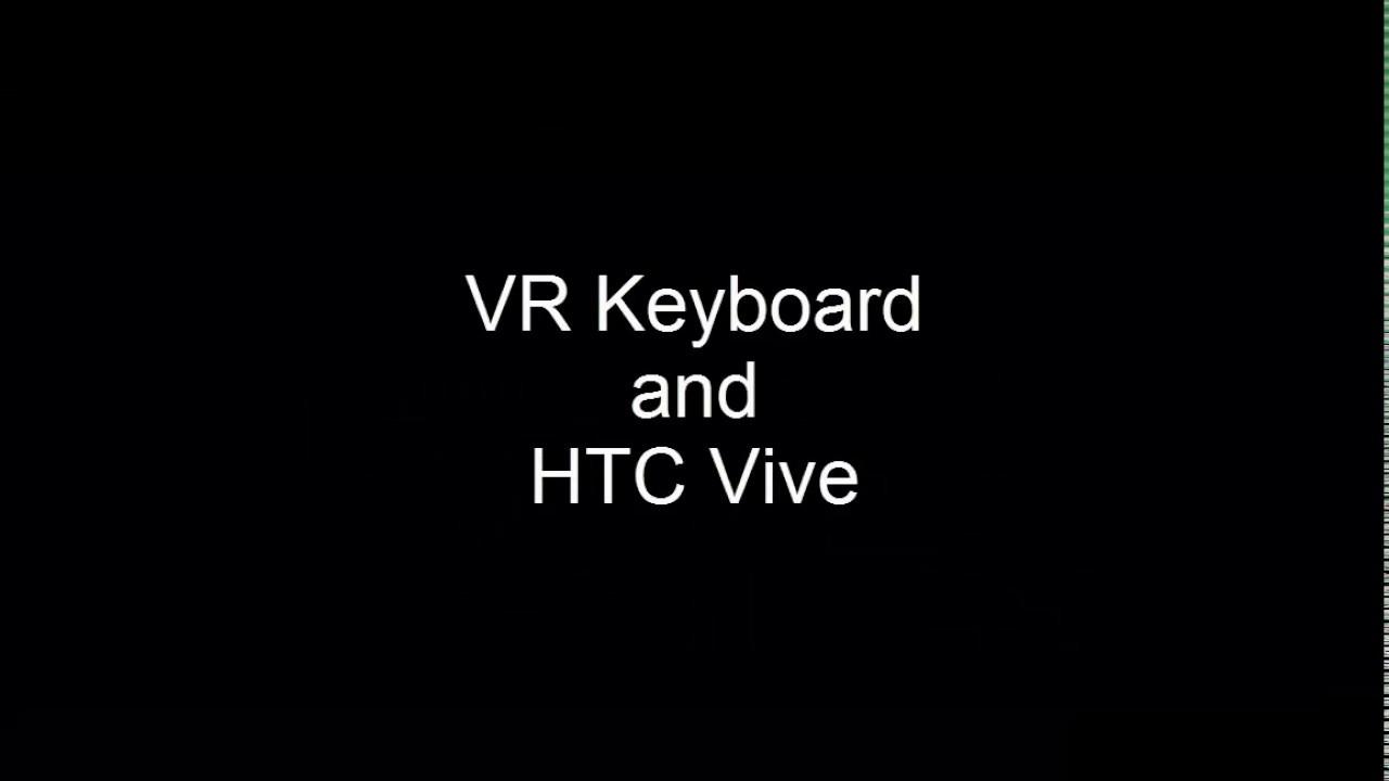 VR Keyboard Unity Plugin