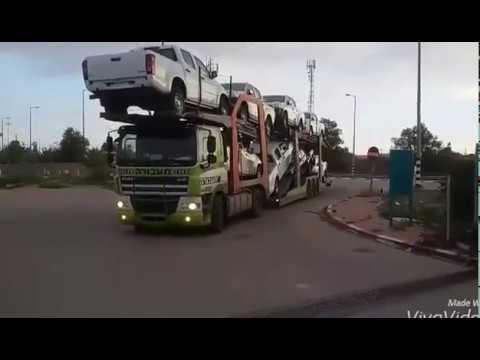 транспортировка машин