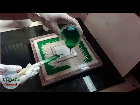 Membuat Cetakan silikon ||| Making a silicon mold for resin casting/cement concrete