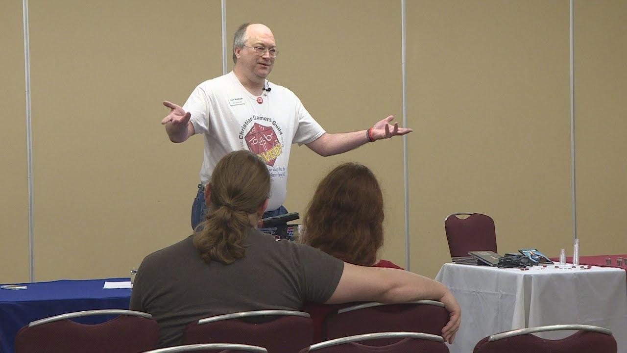 """Louisville man organizes""""Geek Church"""" at comic-cons"""