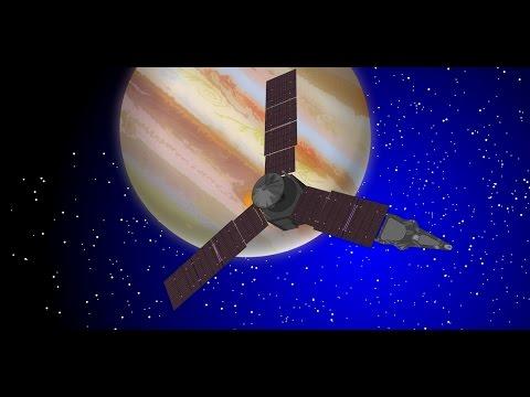 Juno spacecraft's journey to Jupiter