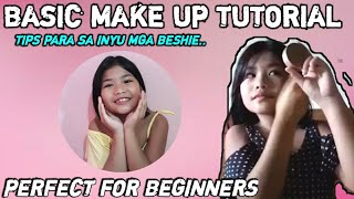 MAKE UP TUTORIAL/FIRST VLOG  By: Mizpah vlog