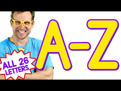 ABC Alphabet Songs  All 26 Letters! Learn the Alphabet A to Z  Bounce Patrol Phonics Song