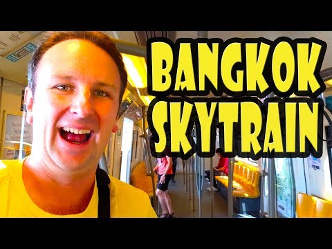 How To Ride Bangkok's BTS Skytrain And MRT Subway