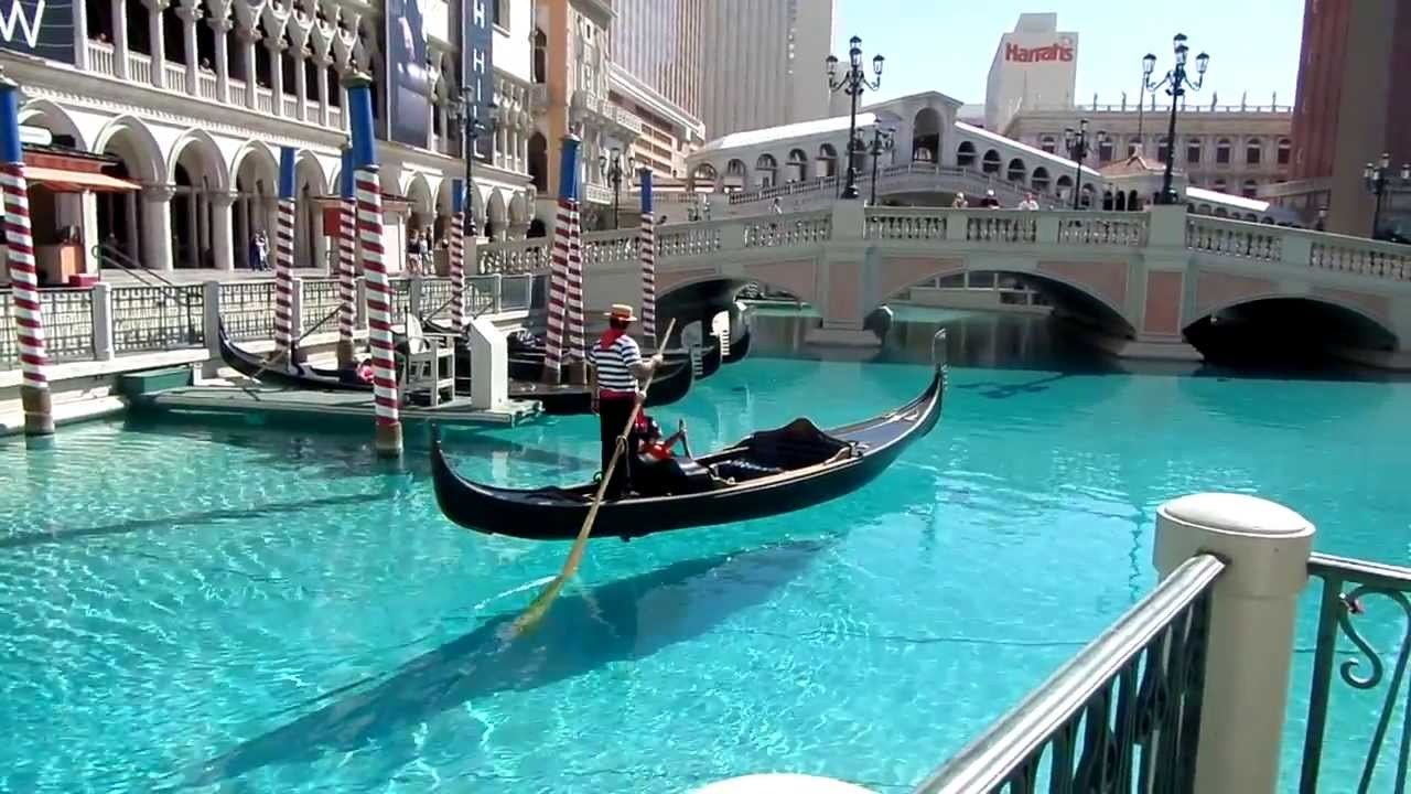Gondola Ride At The Venetian Resort Hotel In Las Vegas