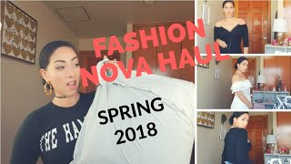 Huge Fashion Nova Haul Try On // Spring 2018