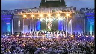 Полина Гагарина & Д.Колдун & С.Лазарев & Ю.Савичева - Гимн московских выпускников