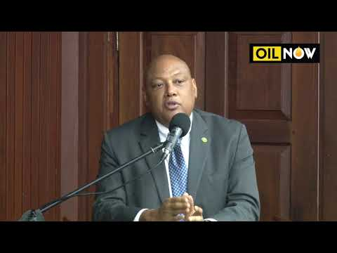 ExxonMobil contract release - Minister of Natural Resources, Raphael Trotman