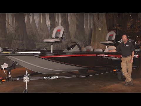 TRACKER Boats: 2016 Pro Team 195 TXW Mod V Fishing Boat Walkaround Review