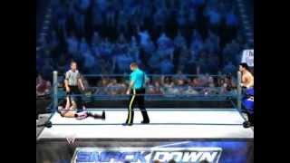 XBOX360版 WWE'12 のLive対戦 プロレスゲームでプロレスごっこ XBOX LIV...