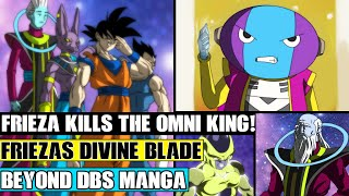 Beyond Dragon Ball Super: The End Of The Omni Kings! Frieza Destroys The Grand Priest With A Weapon!
