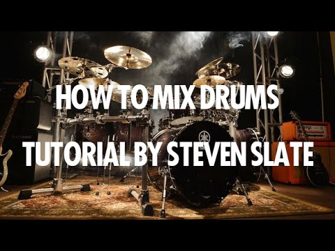 Drum Mixing Tutorial - How to Mix Drums and get HUGE Drum Sounds!
