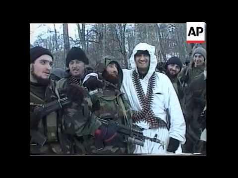 CHECHNYA: RUSSIA/CHECHNYA CONFLICT: REBELS