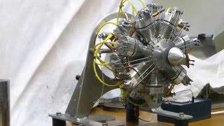 Construction moteur étoiles 14 cylindres perso