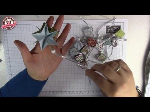 tutorial zauberstern weihnachtsstern falten mit stampin 39 up youtube. Black Bedroom Furniture Sets. Home Design Ideas