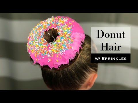 donut hair with sprinkles holster