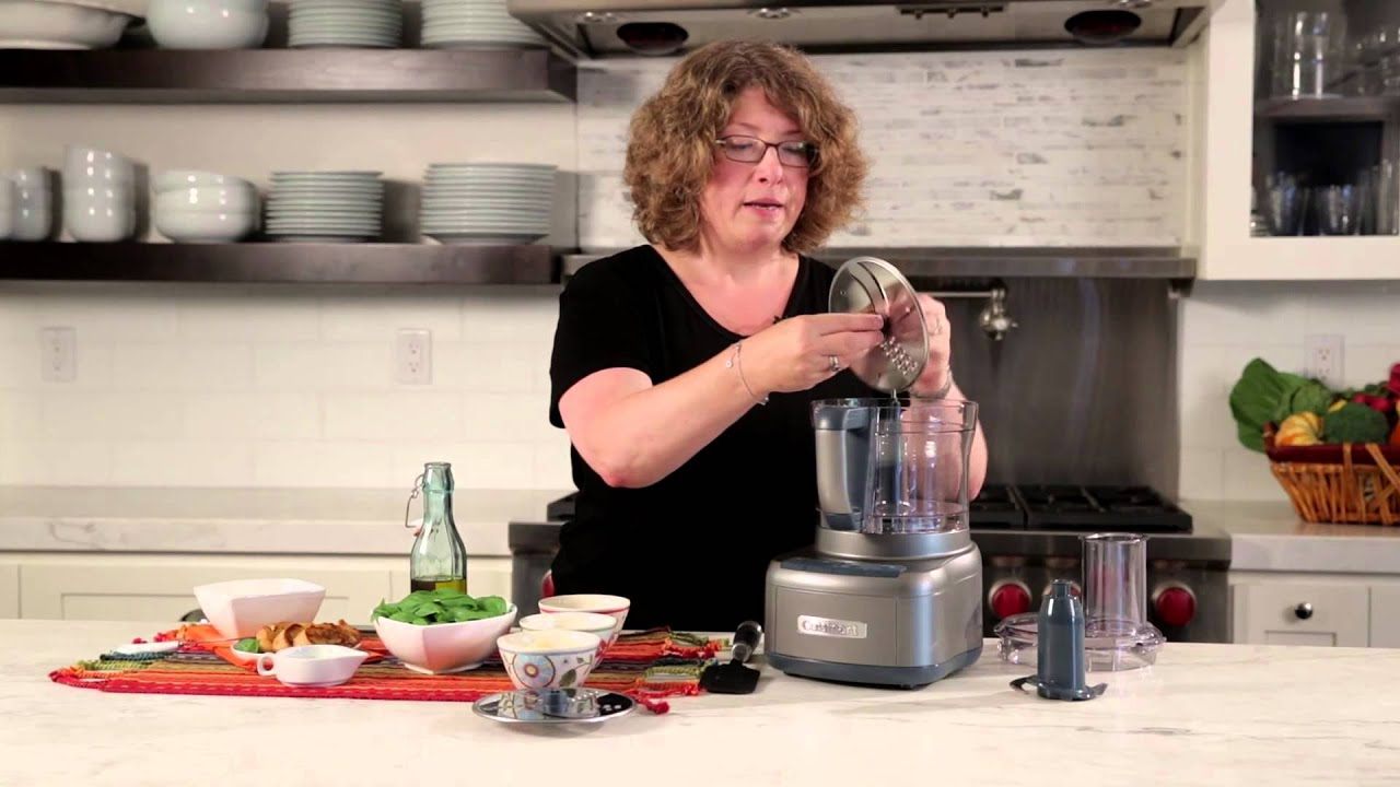 5afdd48eb349 Elemental 8 Food Processor (FP-8SV) Demo Video. Cuisinart