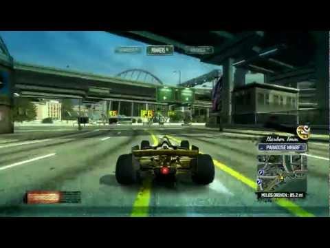 2 : Burnout Paradise : 41 Takedowns avec la F1 Gold Krieger Racing WTR