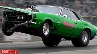 Top 10 Drag Racing Wheelstands (with crashes, fails, and other crazy stuff)
