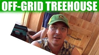 Build An Off-grid Treehouse | 33
