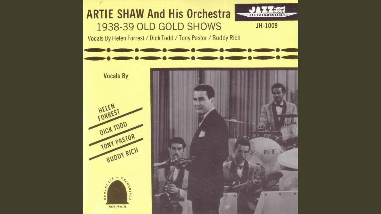 Artie Shaw Yesterdays Yesterday