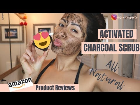 Activated Charcoal Face Mask and Scrub |  Amazon Product Reviews | Soco Botanicals Black Lava Scrub
