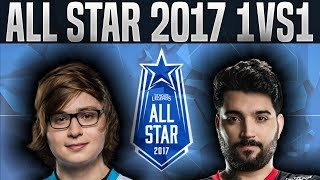 Sneaky Jhin vs brTT Draven (1vs1) - 2017 All-Star Event Day 1 - League of Legends All Star 2017 Day1