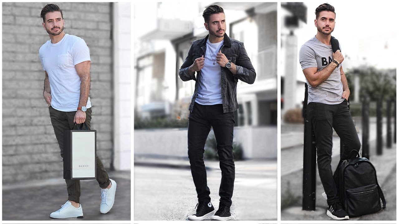 2c1d812fc0b MEN'S BACK TO SCHOOL OUTFITS | Fashion Lookbook Inspiration | 3 Easy and  Affordable Outfits for Men