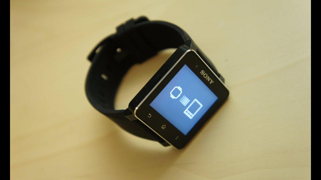 Распаковка Sony SmartWatch 2 - YouTube