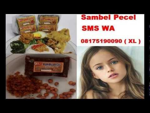 SMS WA 08175190090 Sambal Pecel Lele   Resep Sambal Pecel