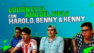 FIFA CON HAROLD BENNY Y KENNY LOVATO