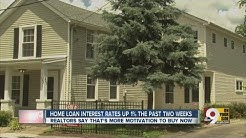 Home loan interest rates up 1 percent the past two weeks