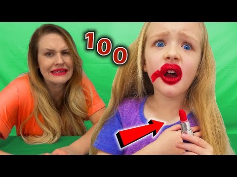 100 Layers of Lipstick Challenge! | Trinity and Beyond