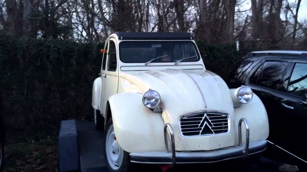 Citroen 1962 - classic cars from USA - YouTube