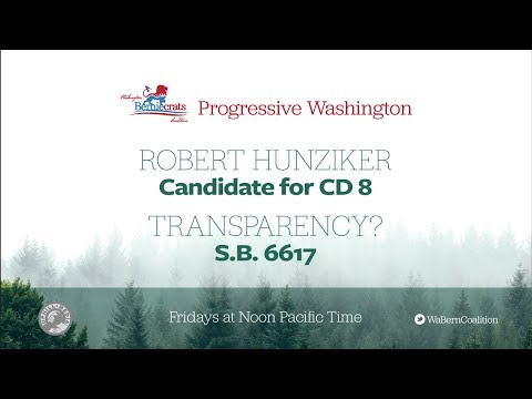 Progressive Washington - Connect with the Revolution - March 2nd, 2018